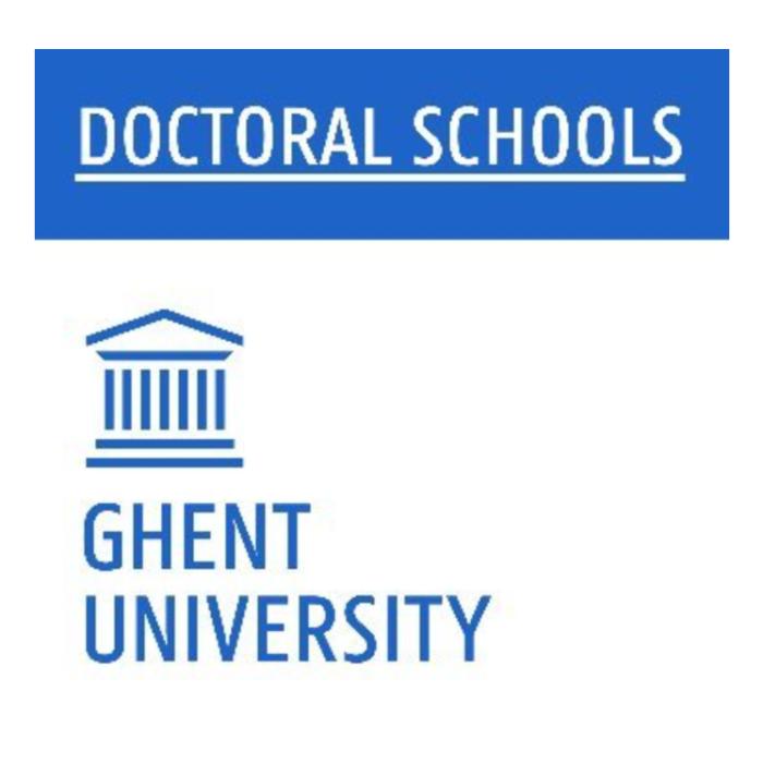 UGhent | Online onboarding for doctorandi