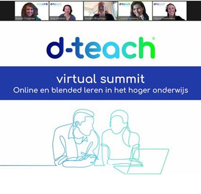 Virtual summit | Online en blended leren in het hoger onderwijs