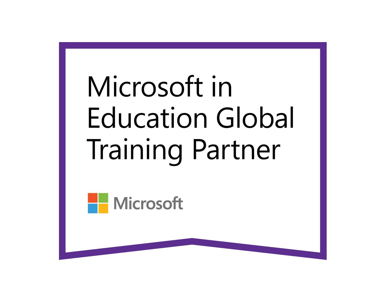 Microsoft in Education global training partner